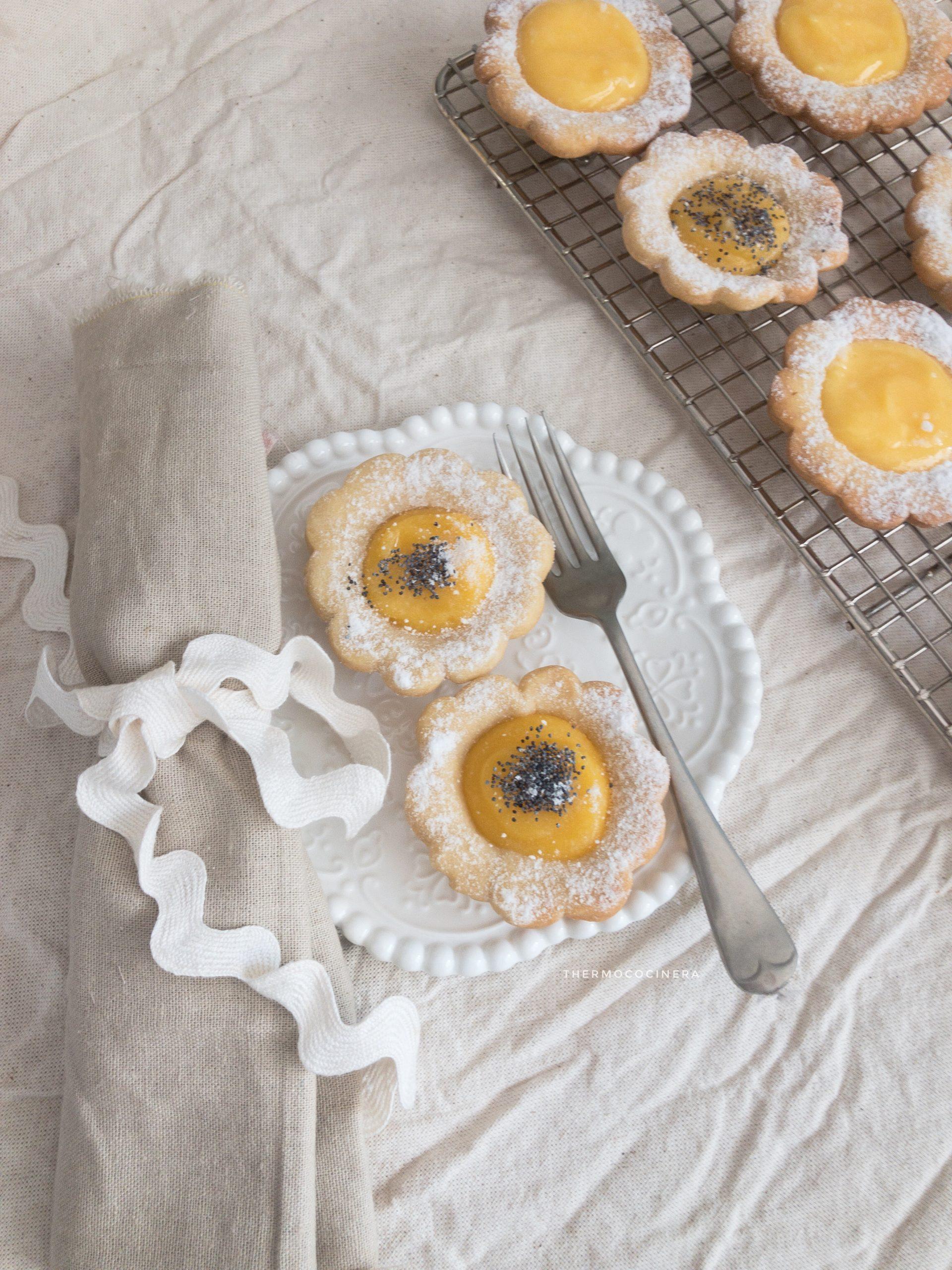 Galletas con Lemon Curd